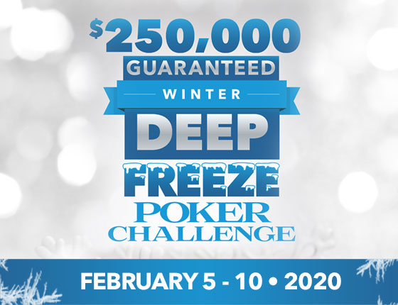 DEEP FREEZE POKER CHALLENGE